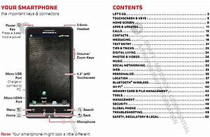 Motorola Droid Bionic User Manual Previewed In Fcc Docs