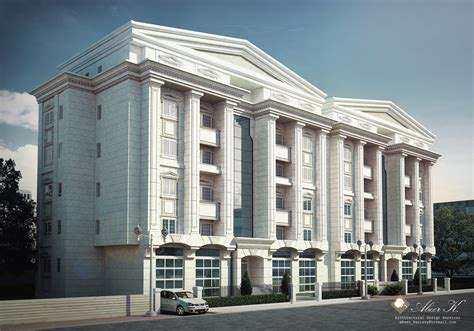 neoclassical house plans classic apartment building by kasrawy on deviantart