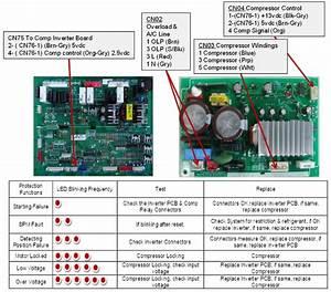 Samsung Refrigerator Compressor Wiring Diagram