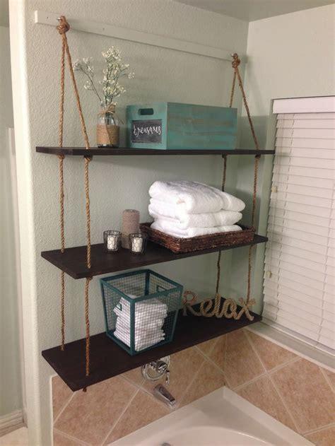 mon ami createry diy rope shelves home decor tips