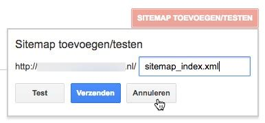 Google Search Console Website Vindbaar