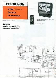 Ferguson Tx805 Service Manual Download  Schematics  Eeprom