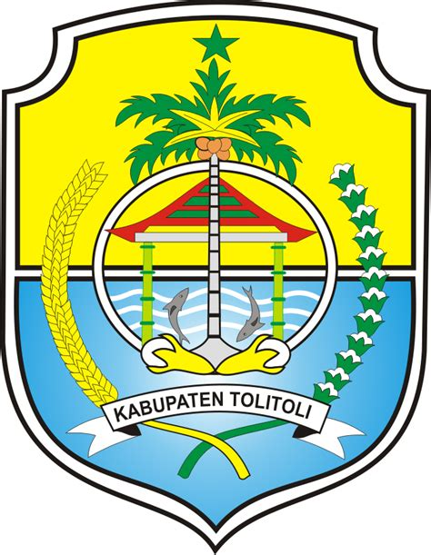 logo kabupaten tolitoli kumpulan logo indonesia
