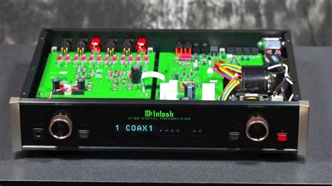 Stereo Design McIntosh D100 Digital Preamplifier in HD ...