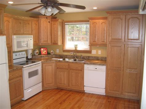 Above Kitchen Cabinet Decorative Accents by Oak Country Kitchen Traditional Kitchen Nashville