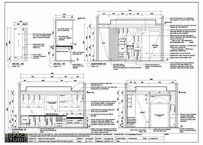 Furniture Drawing Studio Interior Office Drawings Espace