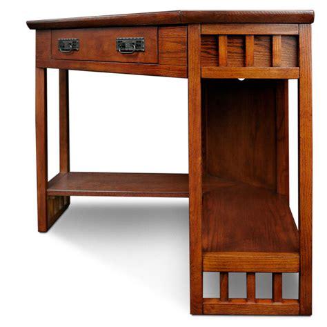 target mission desk mission computer desk oak corner style laptop writing desk