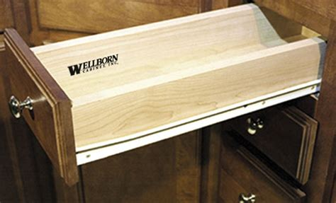 kitchen cabinet drawer slides self closing kitchen bath and closet cabinetry by wellborn cabinet inc 9106
