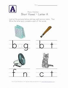 Short Vowels Worksheets For Kindergarten images