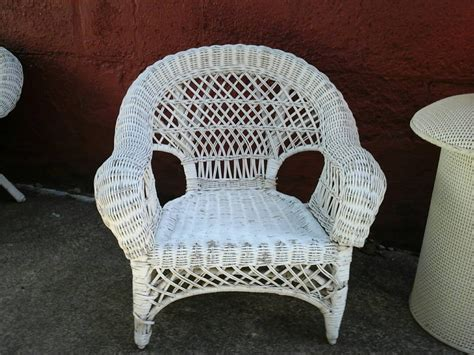 Vintage Child's Wicker Chair. Small White Wicker Chair Restaurant Living Room London Window Styles La Jolla Cove Candidate Lesson Plan Formal Sets Gavin Shettler Realty Giormani Furniture Store Classy Wallpaper