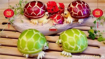 Fruit Vegetable Carving Apple Lessons Decoration Edible