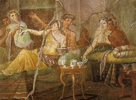 banchetto romano cosa mangiavano i romani pompeiitaly org