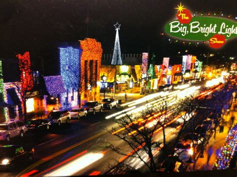 big bright light show and downtown rochester with