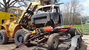 Removing 1950 Chevy Truck Cab From Chassis