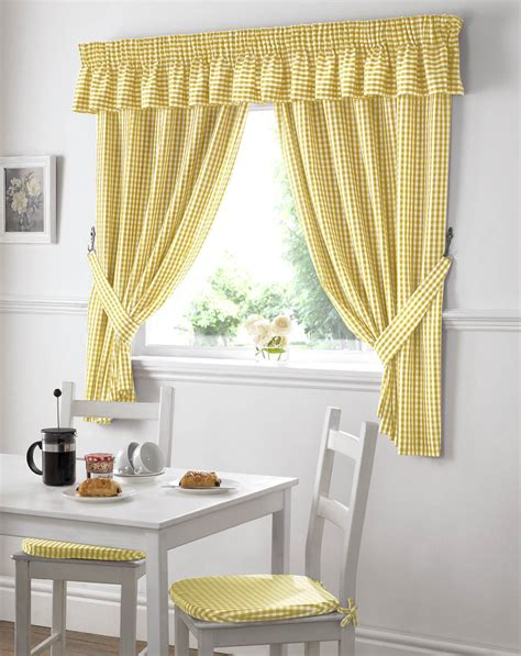 Kitchen Curtains by Selection Of Kitchen Curtains For Modern Home Decoration