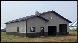 there are three main doors for your pole barn ordinary With 40x60 pole barn cost