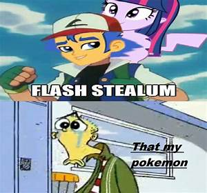 Flash Stole Ed Pokemon Parther