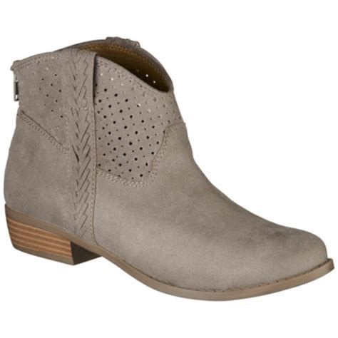 Womens Boat Shoes Target by S Mossimo 174 Paka Perforated Ankle Boot Target