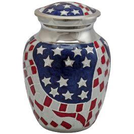 american flag urn patriotic cremation urn memorial gallery