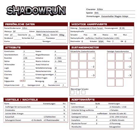 dumpshock forums gt shadowrun 5 charactersheet generator