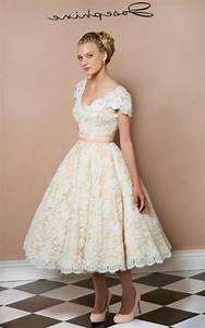 tea length plus size wedding dress pluslookeu collection With how to measure for a wedding dress