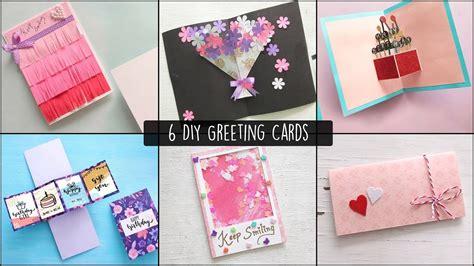 easy  cards ideas handmade greeting cards