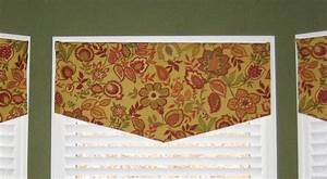 Tallgrass design simple valances for Simple window valances
