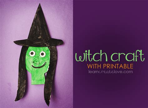 printable witch craft 300 | witch 002