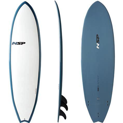 Tabla De Surf Nsp Fish Elements (en Stock