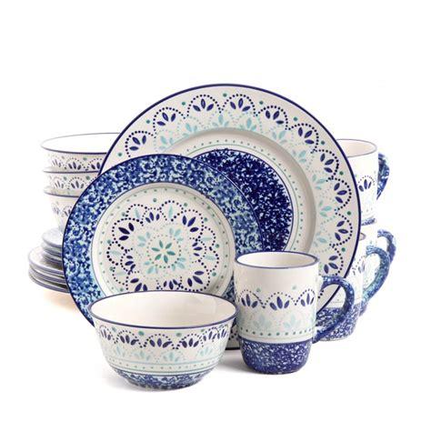 dinnerware gibson stoneware piece kamille microwave safe sets casual elite upcitemdb upc tableware dining save