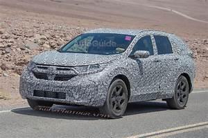 2018 Honda CRV Spy photos Redesigned hybrid, redesign