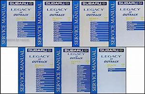 2003 Subaru Legacy And Outback Repair Shop Manual Set Original