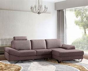 contemporary style grey fabric sectional sofa 44l6077 With grey cloth sectional sofa