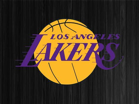 Lakers Logo Wallpaper   WallpaperSafari