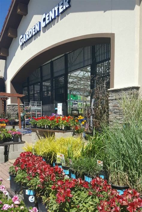 lowes garden center how to deck out your springtime entryway the design