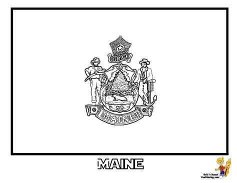 gallant state flags coloring idaho montana  flags