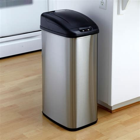 Interior Cool And Great Decorative Kitchen Trash Cans