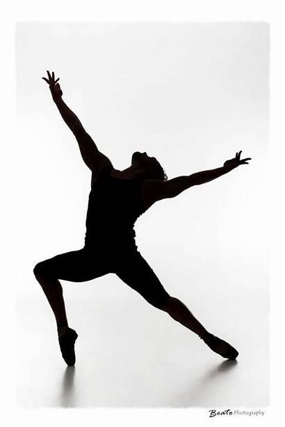 Silhouette Contemporary Clipart Dancer Dance Silhouettes Ballet