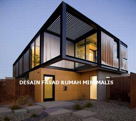 ide  inspirasi desain fasad rumah minimalis bangun
