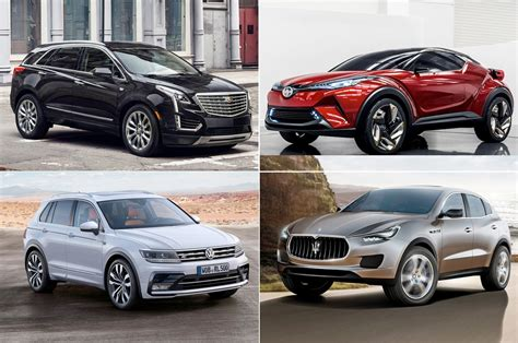 20 Crossovers, Suvs To Look Forward To In 2016 And Beyond