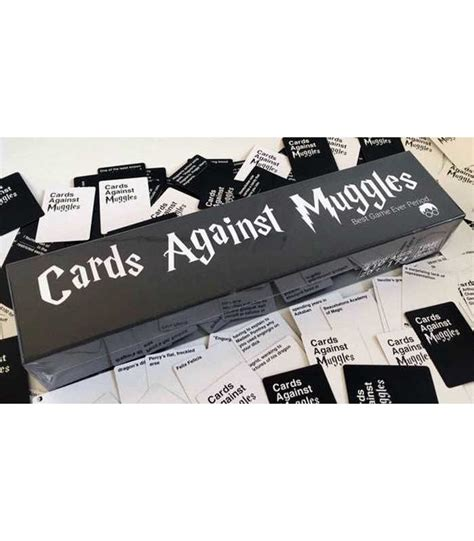 Cards against muggles, a cards against humanity expansion, is a game changer for harry potter fans. Cards Against Muggles (HARRY POTTER) | Party Games / Umoristici | Giochinscatola | Negozio Online