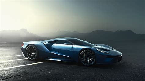 Ford Gt Supercar 2017 Wallpaper