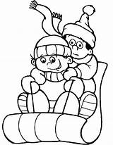 Coloring Winter Pages Sledding Themed Sled Theme Snow Obama Michelle Printable January Sheets Drawing Preschool Getcolorings Clipartmag Getdrawings Cartoon Snowman sketch template
