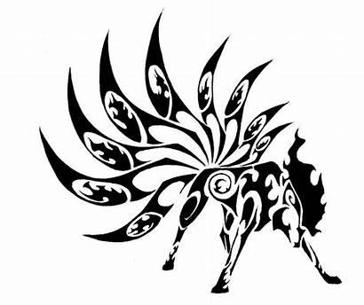 Tribal Tattoo Animal Designs Amazing Ninetales