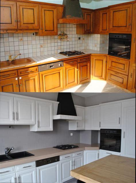 repeindre un meuble cuisine cuisine bois quelle peinture pour repeindre meuble