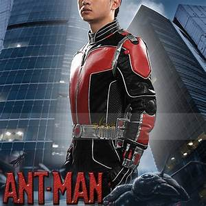 2015, New, Marvel, Ant, Man, Cosplay, Costume, Adult, Superhero, Costume, For, Halloween, Party, Custom, Made