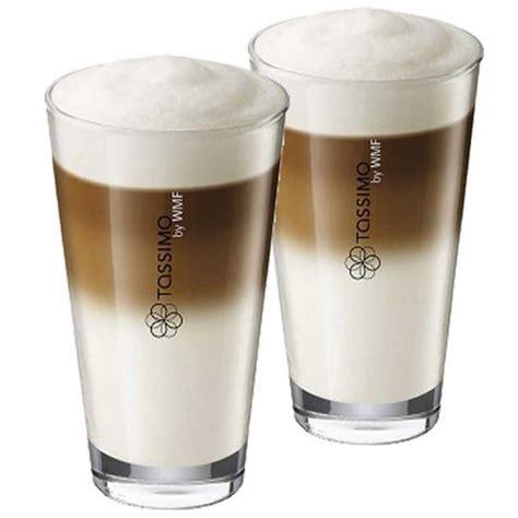 Accessoires Tassimo : Tasse Latte Macchiato   par 2   Coffee Webstore