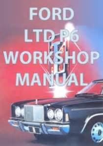 how to download repair manuals 1993 ford ltd crown victoria head up display ford ltd p6 factory workshop manual download nowford falcon repair manuals
