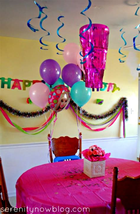 ideas homemade centerpiece for parties my home design birthday party decorations at home decoration ideas for