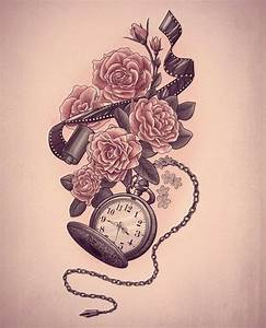 112 best images about tattoos on Pinterest | Pocket watch ...